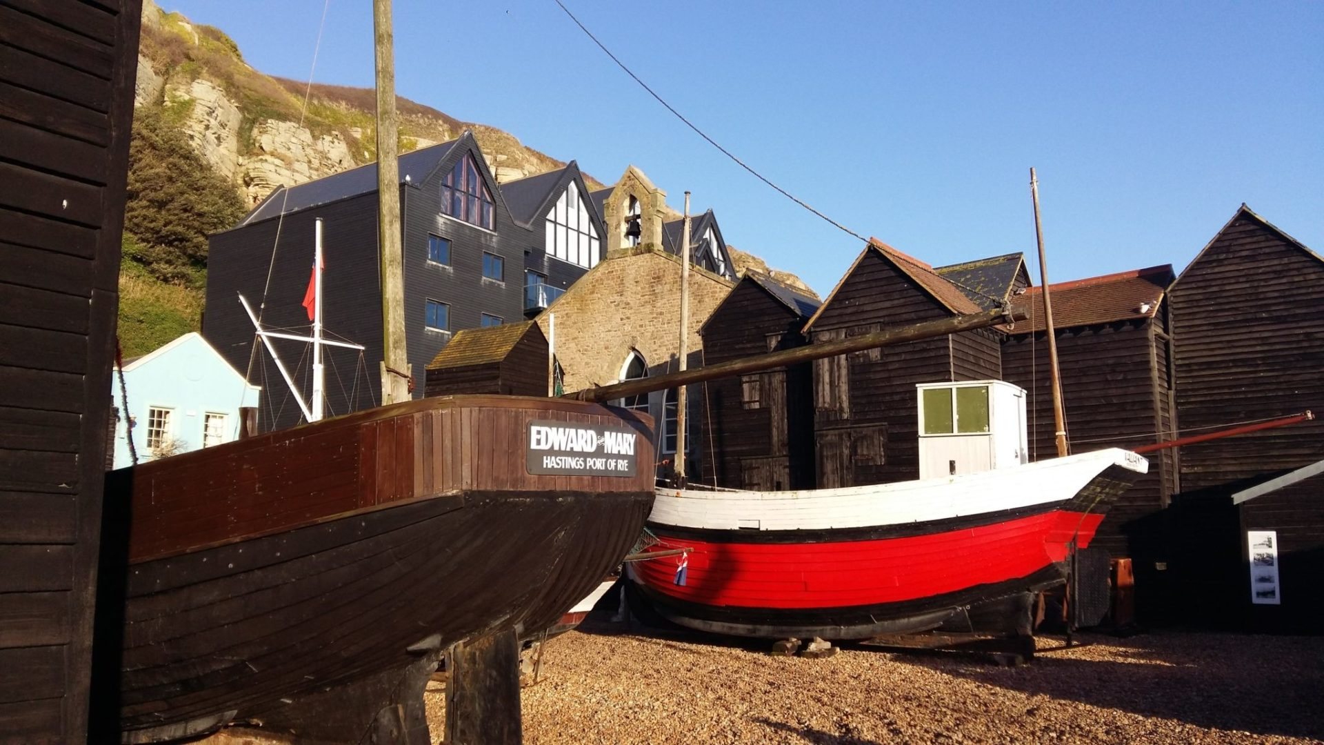 Hastings fishermen's huts