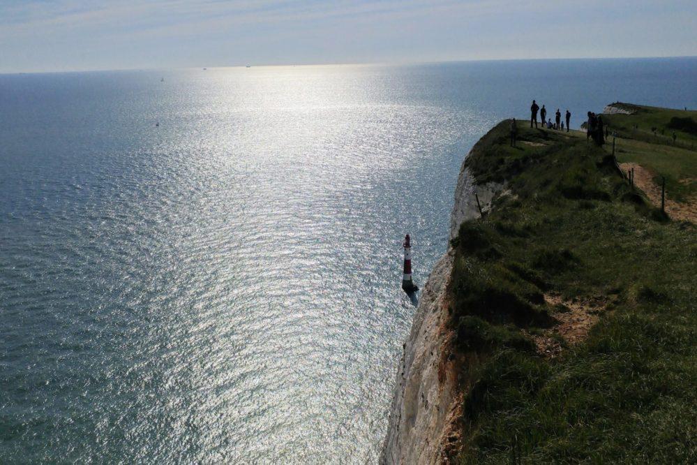 Beachy Head - The highest chalk sea cliff in Britain