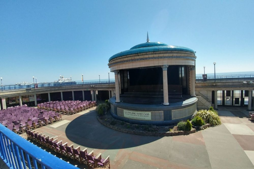 Eastbourne Bandstand - usually always something going on