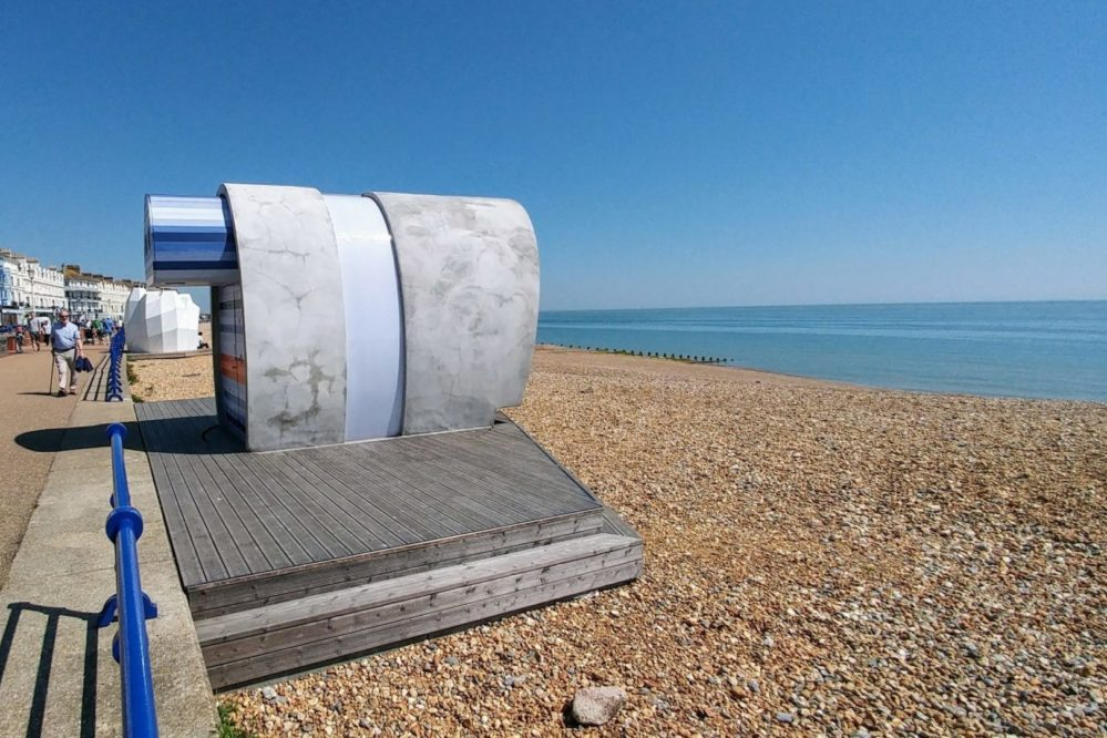 Eastbourne's Loo with a view
