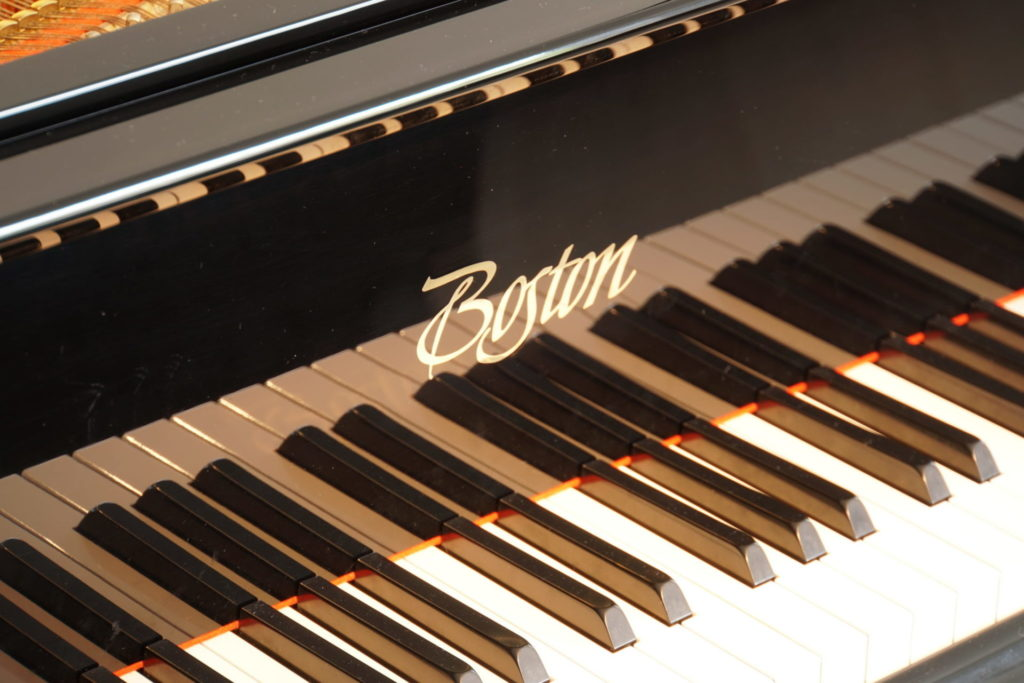 Boston Baby Grand Piano - Tuned & Maintained by Coach House's Senior Technician