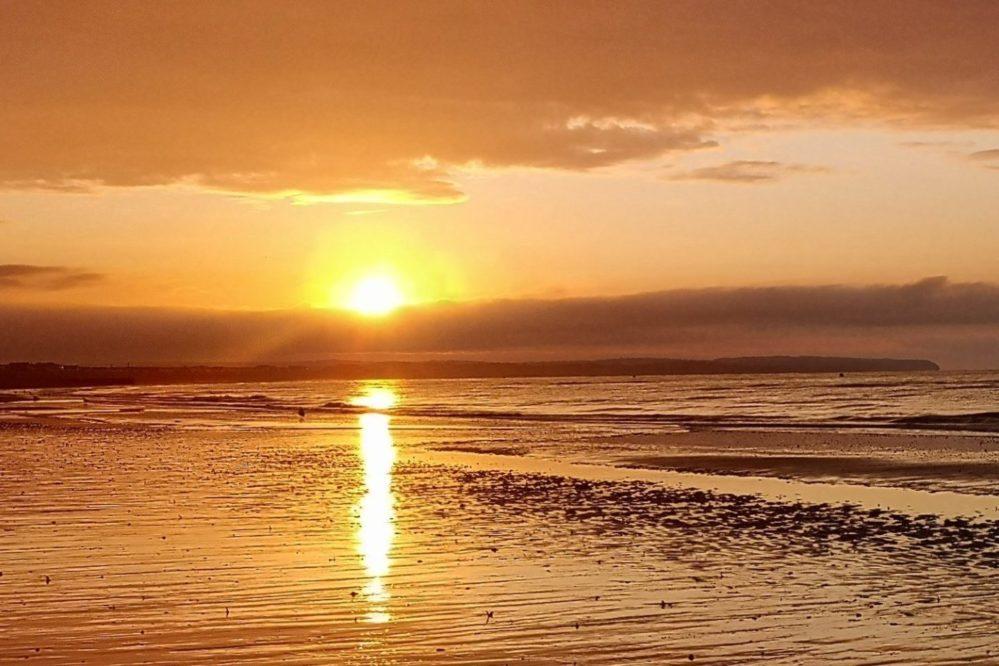 Sunrise Pevensey Bay