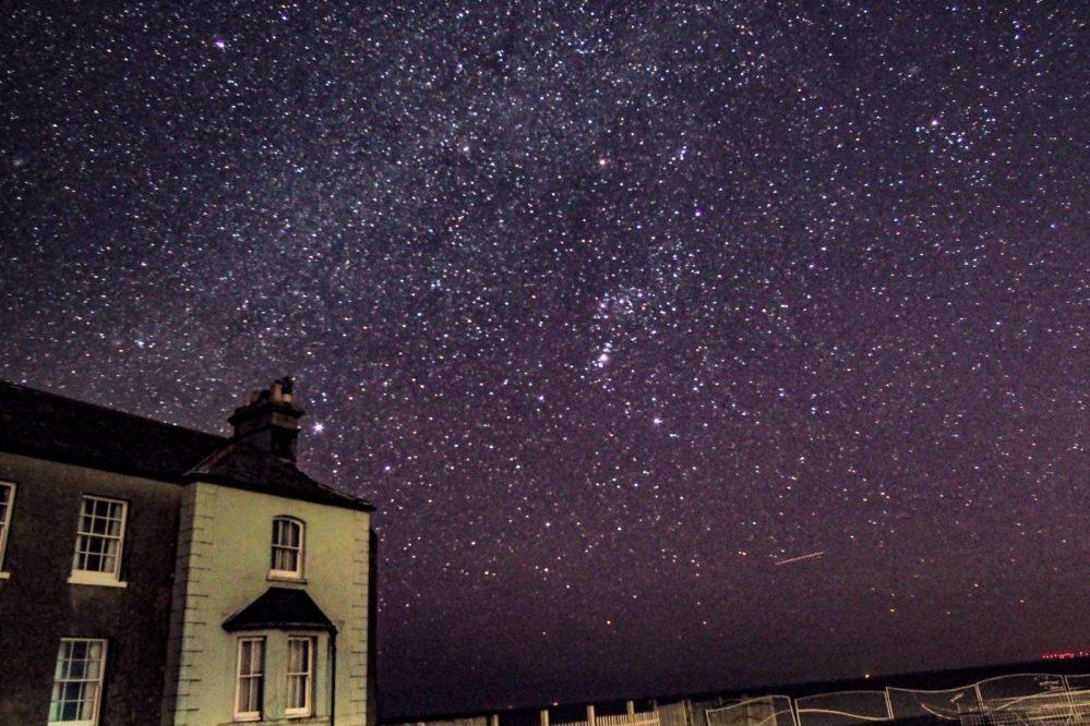 Birling Gap a Dark Sky Discovery Site